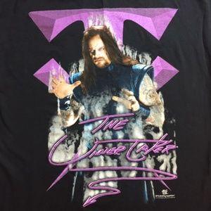 Rare Vintage 1998 The Undertaker WWE WWF T Shirt